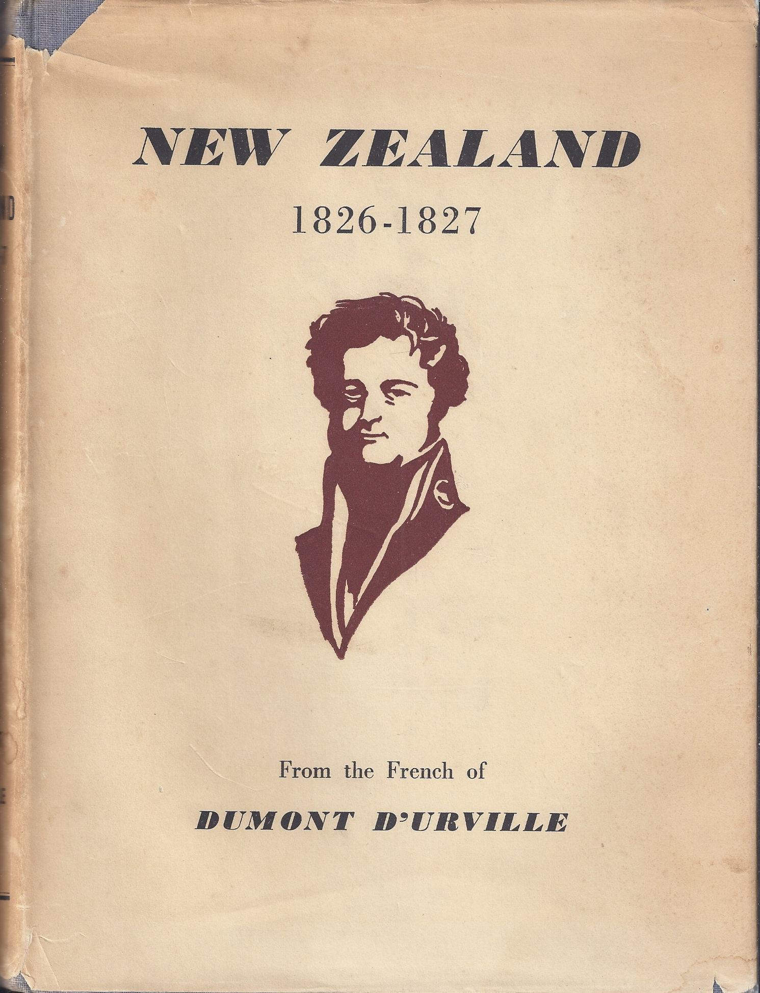 Image for New Zealand 1826-1827 From the French of Dumont D'Urville