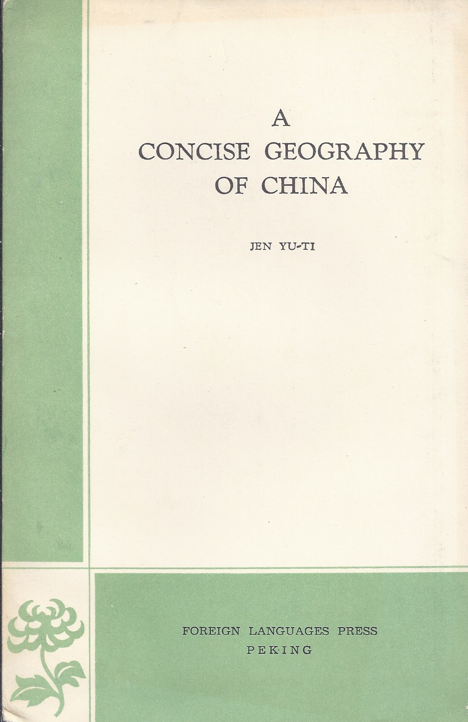 Image for A Concise Geography of China