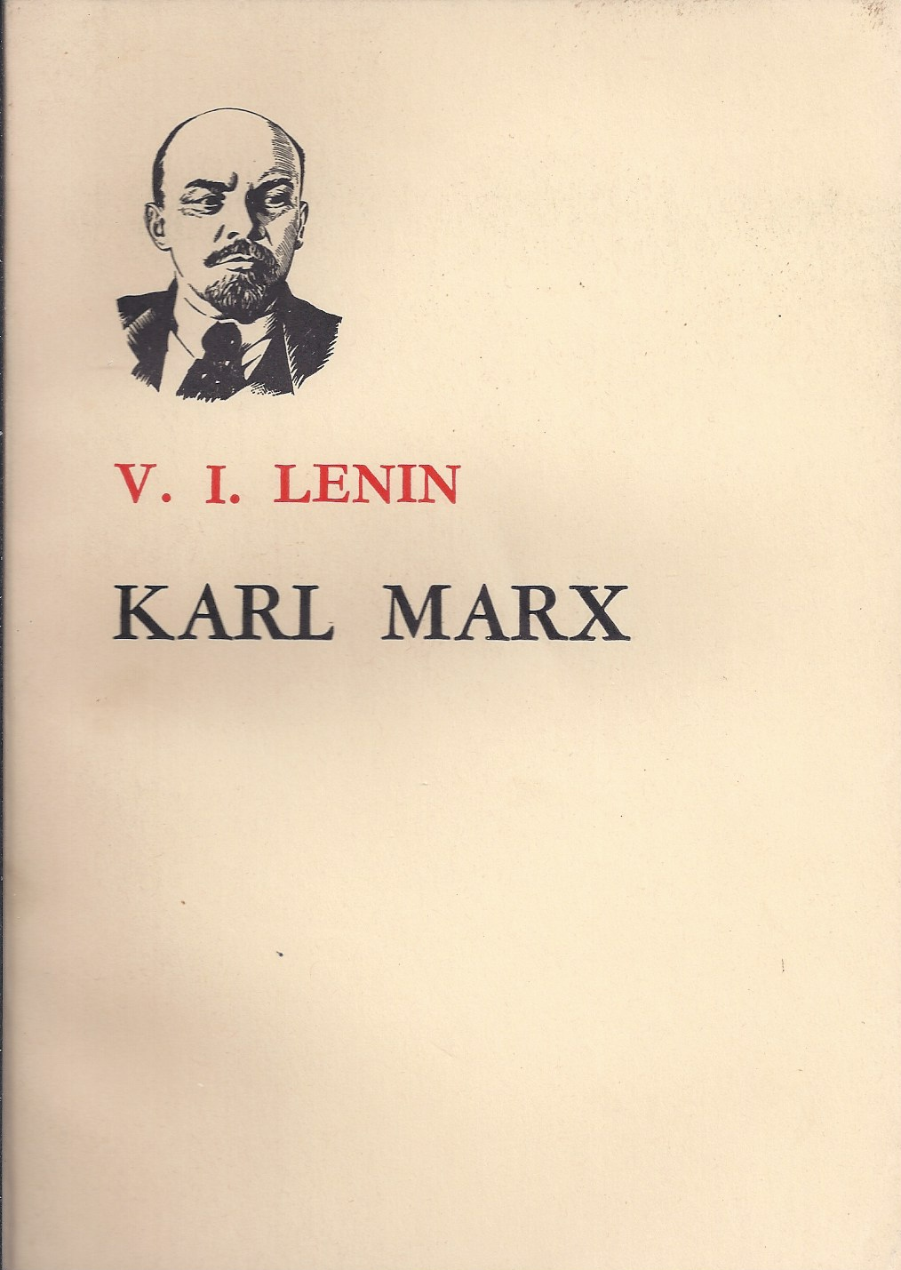 Image for Karl Marx A Brief Biographical Sketch with an Exposition of Marxism