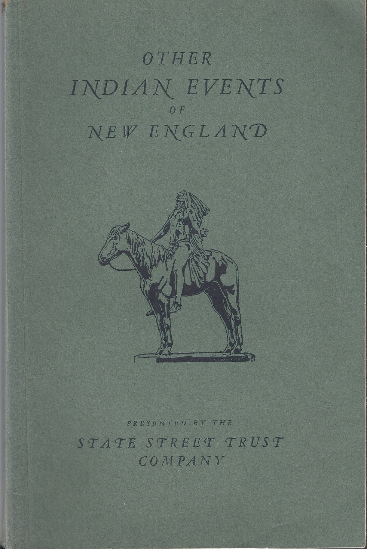 Image for Other Indian Events of New England, Vol II A Collection of Interesting Incidents in the Lives of the Early Settlers of This Country and the Indians with Reproductions of Old Prints and Photographs.
