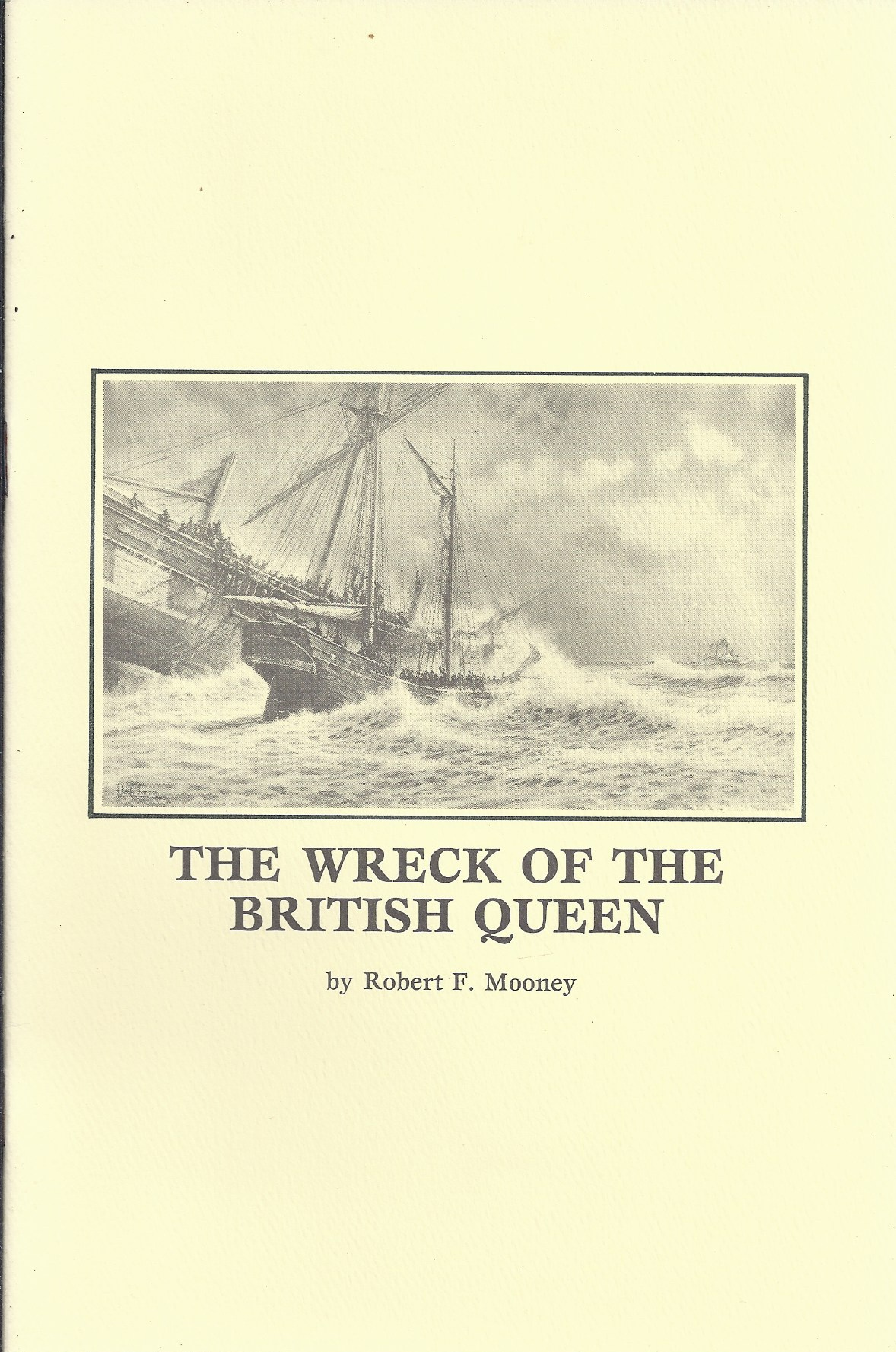 Image for The Wreck of the British Queen