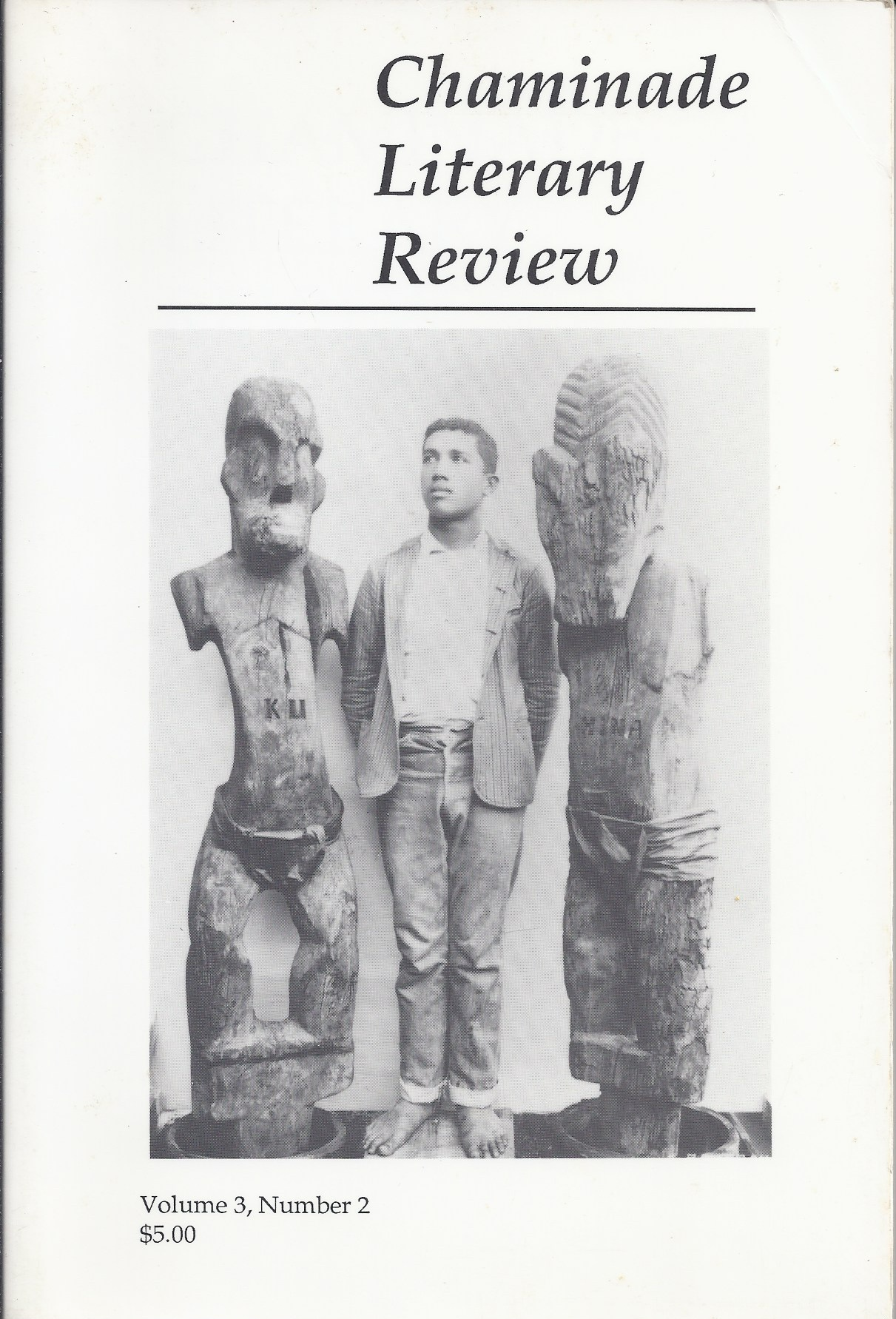 Image for Chaminade Literary Review Volume 3, Number 2 Spring 1990