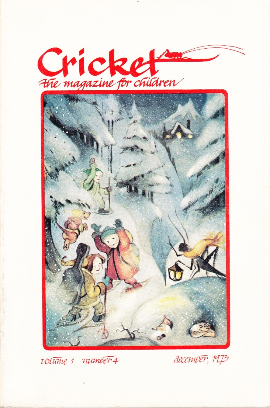 Image for Cricket: the Magazine for Children, December 1973 (Vol. 1, No. 4)