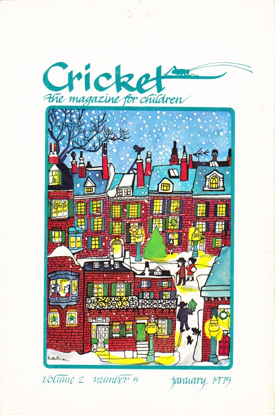 Image for Cricket: the Magazine for Children, January 1975 (Vol. 2, No. 5)