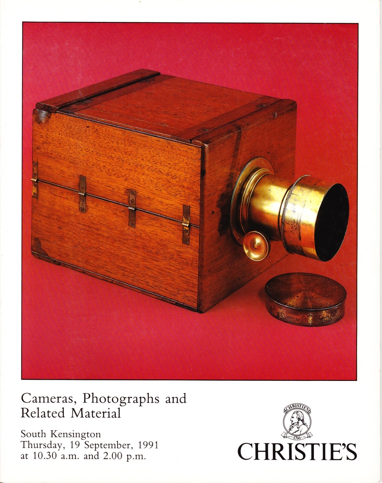 Image for Cameras, Photographs and Related Material 19 September 1991, MCA 4406
