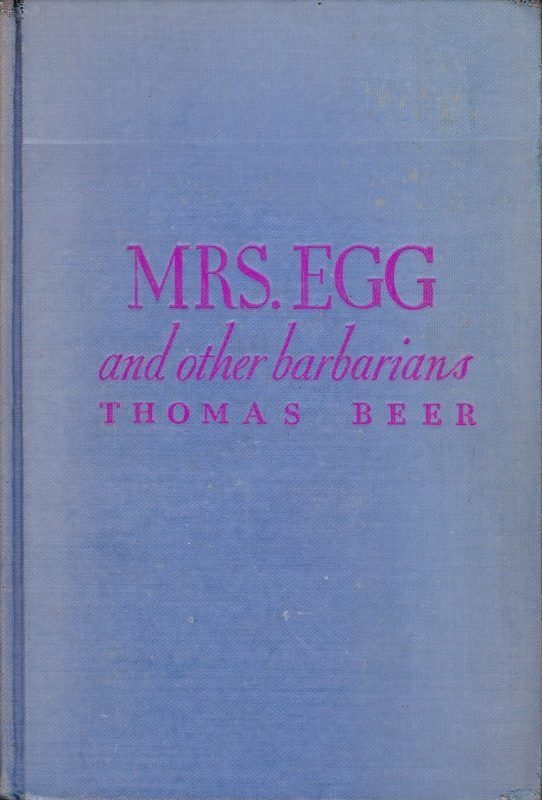 Image for Mrs. Egg and Other Barbarians