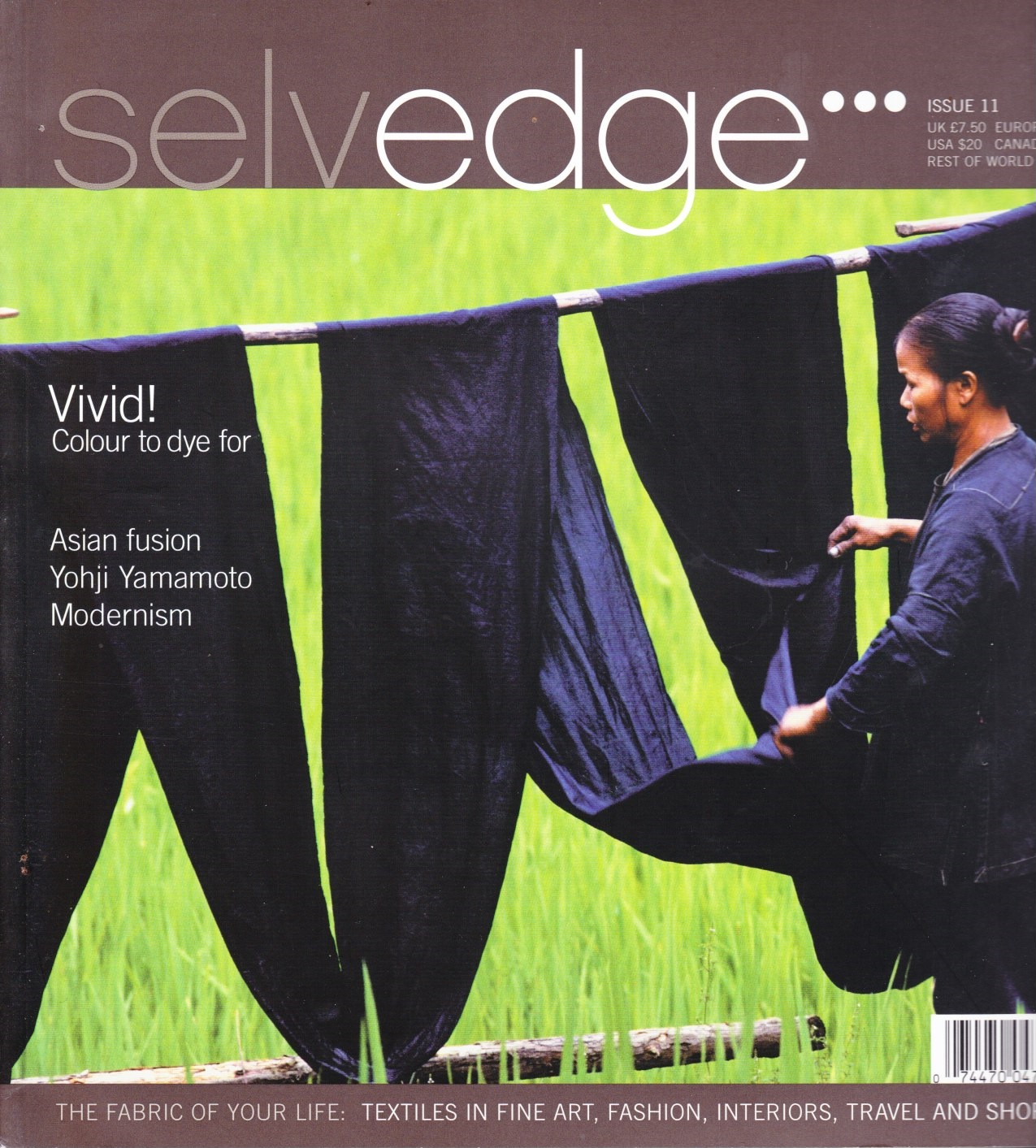 Image for Selvedge Magazine, May 2006, Issue 11 The Vivid Issue