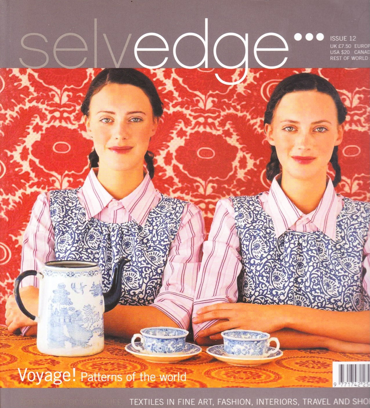 Image for Selvedge Magazine, July 2006, Issue 12 The Voyage Issue