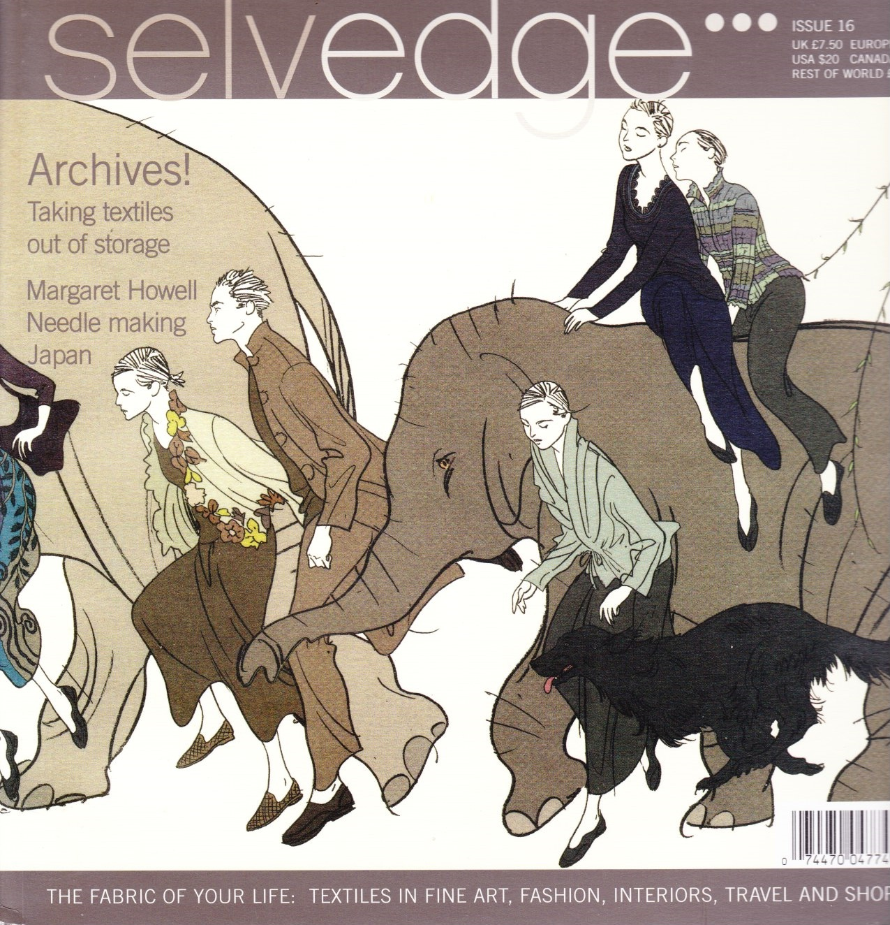 Image for Selvedge Magazine, March 2007, Issue 16 The Archive Issue