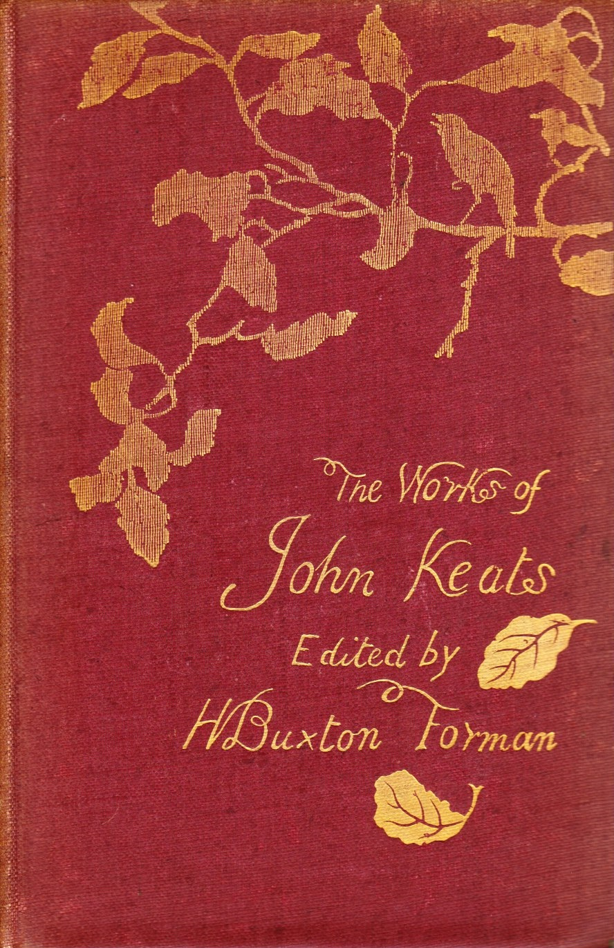 Image for The Poetical Works and Other Writings of John Keats.... (Original 4-Volume Set)