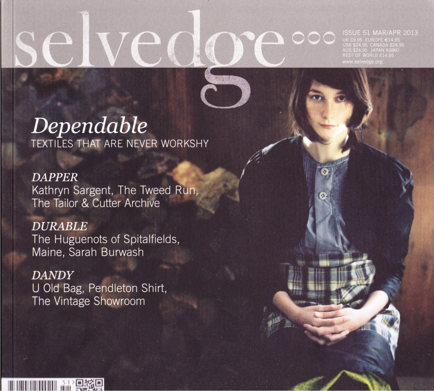 Image for Selvedge Magazine, MAR/APR 2013, Issue 51 The Dependable Issue