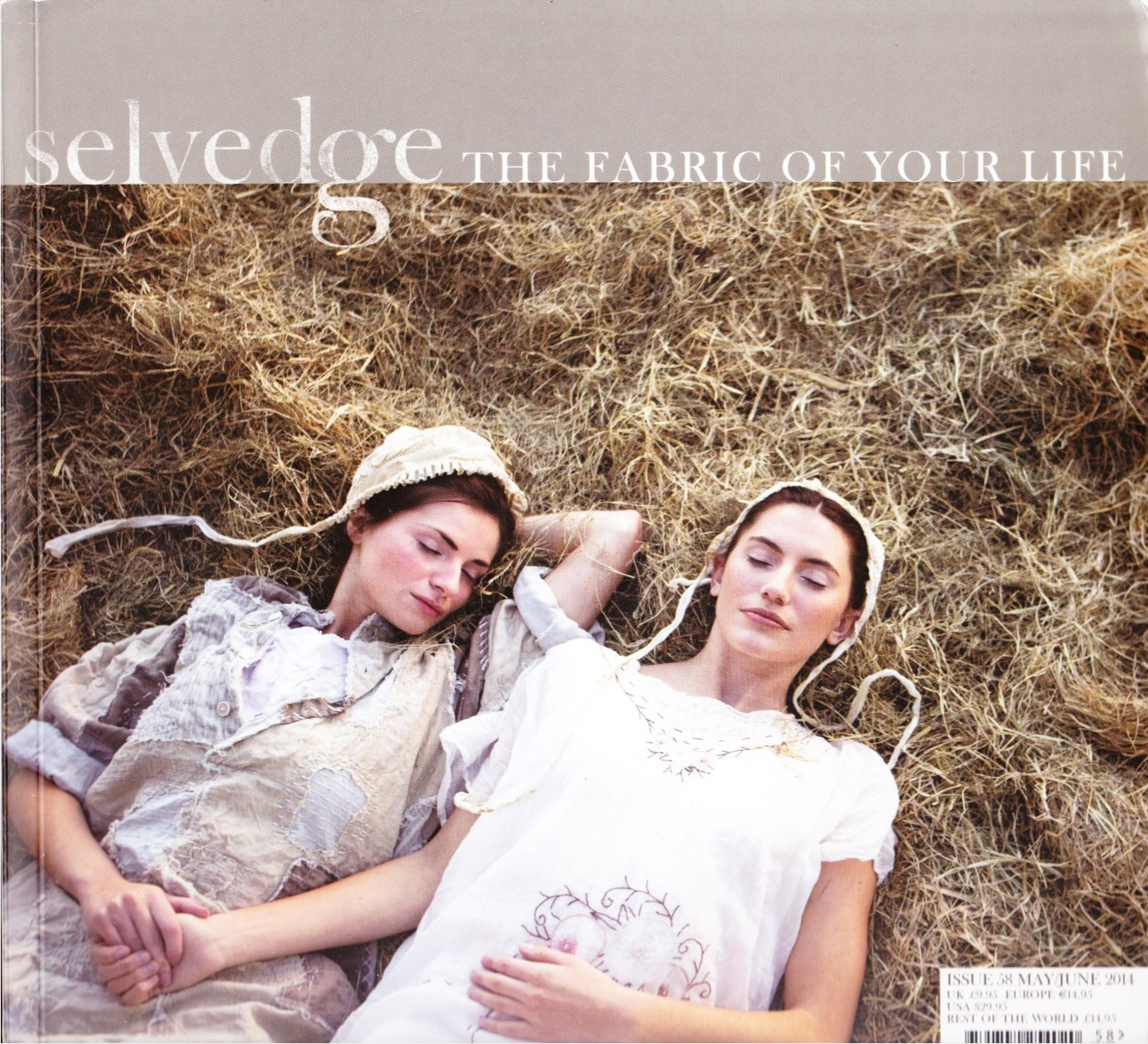 Image for Selvedge Magazine, MAY/JUN 2014, Issue 58 The Blue and White Issue