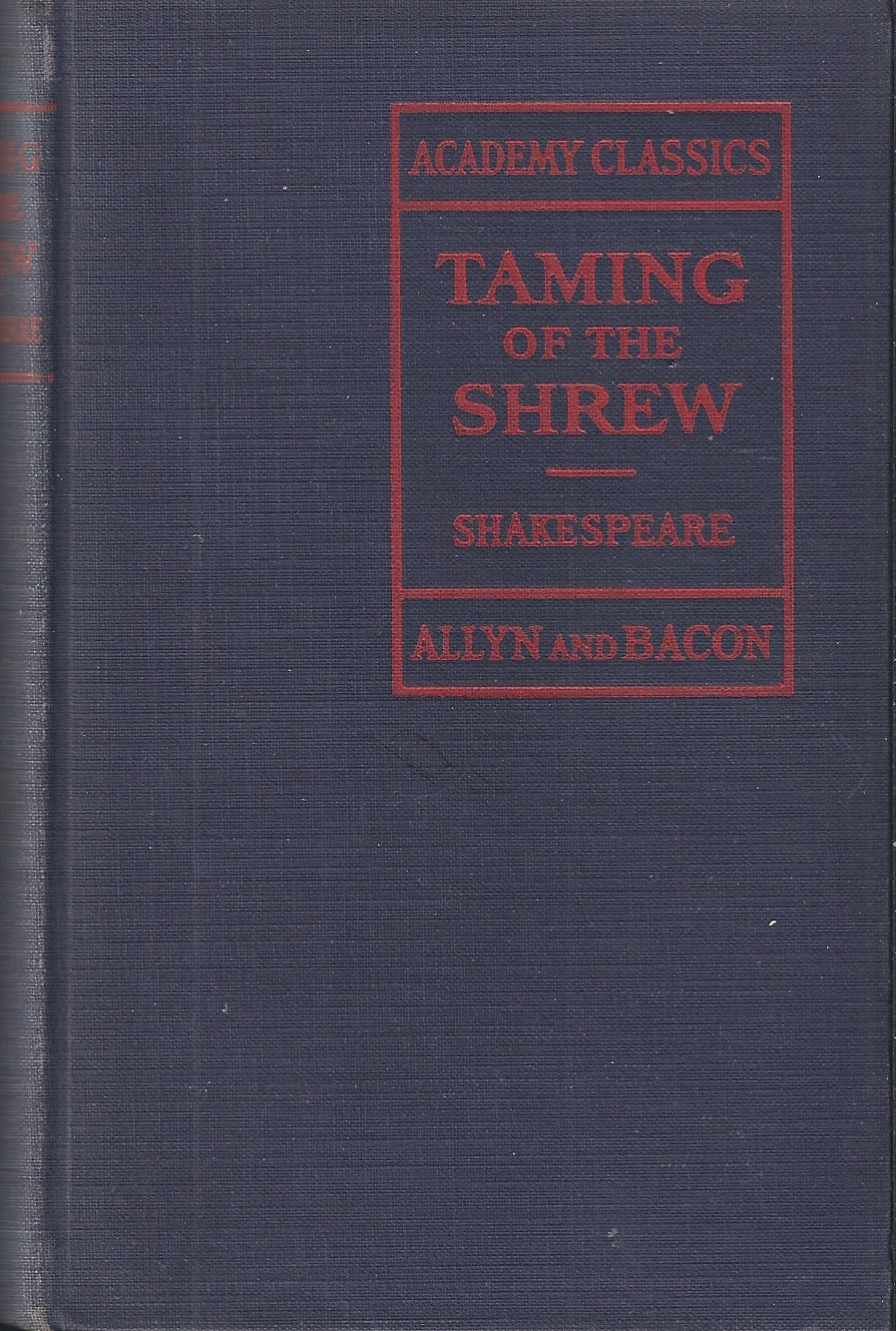 Image for Taming of the Shrew