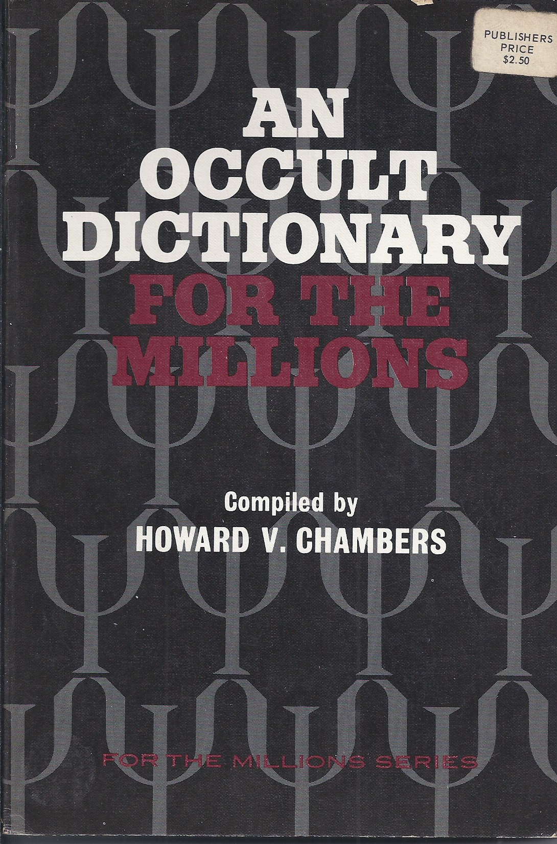 Image for An Occult Dictionary for the Millions