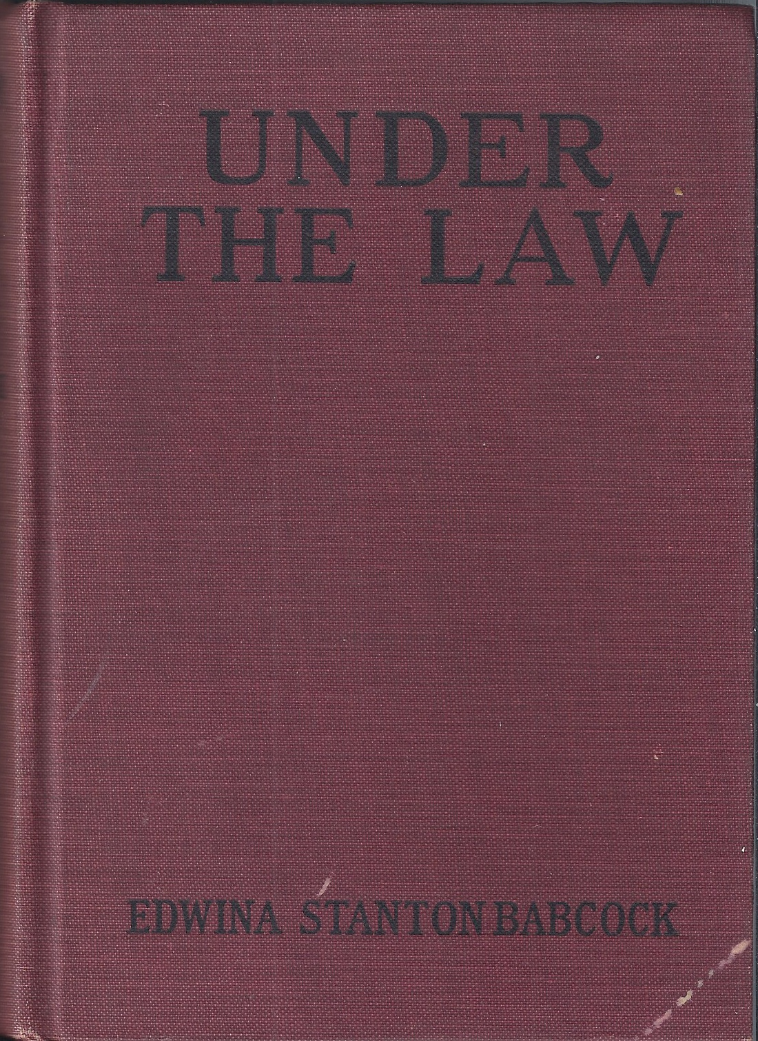 Image for Under the Law